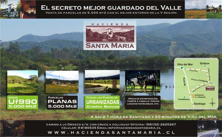 Flyer Santa Maria de los Quillayes