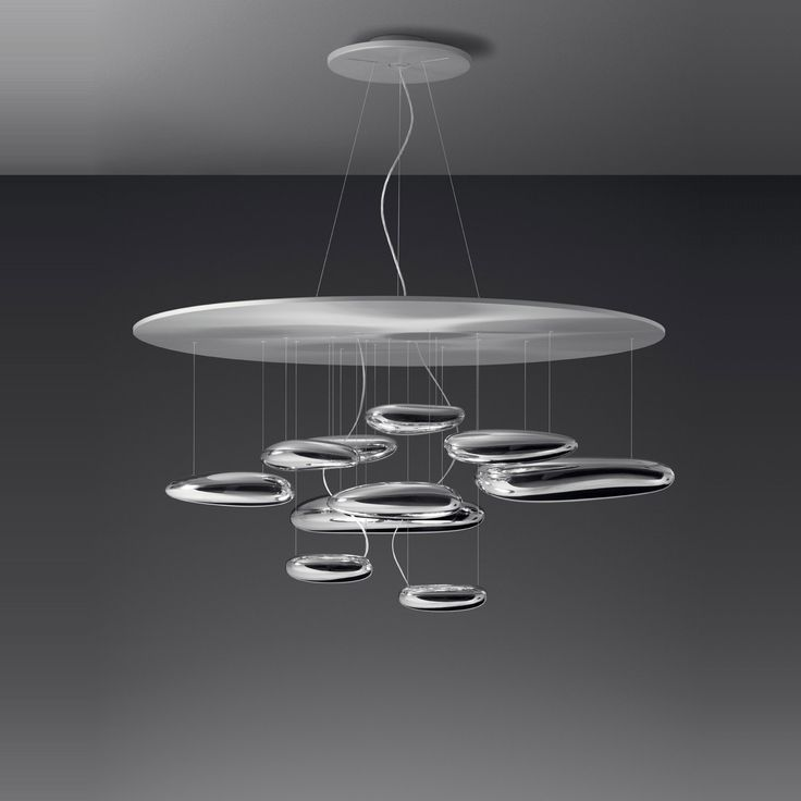 Indulge Yourself In The View Of This Circular Mercury Sospensione Pendant  Light Designed By Ross Lovegrove. Its Body Consists Of Die Cast Aluminium  And The ...