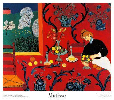Matisse- La habitación roja                                                                                                                                                      Más