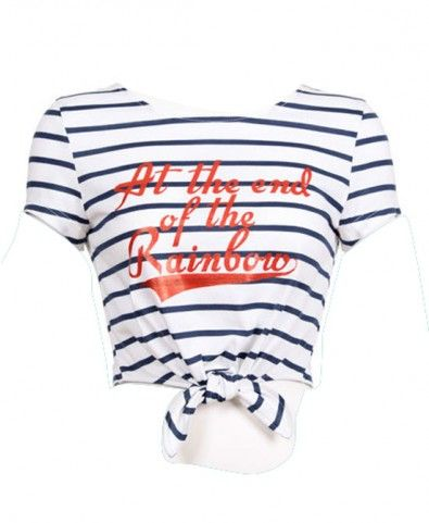 This striped shirt is amazing!