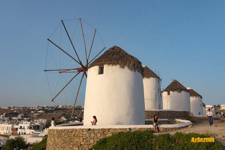 Mykonos, hem eğlence hem dinlence, Mykonos hakkında merak ettikleriniz....