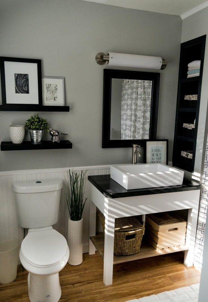 Die 25+ besten Ideen zu Gäste wc gestalten auf Pinterest  Wohnheim farben, Weiße wände ...