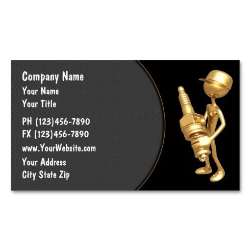 19 best auto mechanic business cards images on pinterest auto automotive business card reheart Images