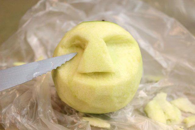 How to Make Dried Apple Shrunken Heads   eHow