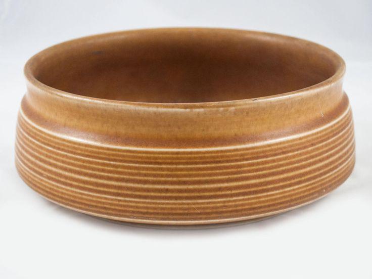 Très beau bol vintage Langley potterie brun - maron de la boutique 3rvintages sur Etsy