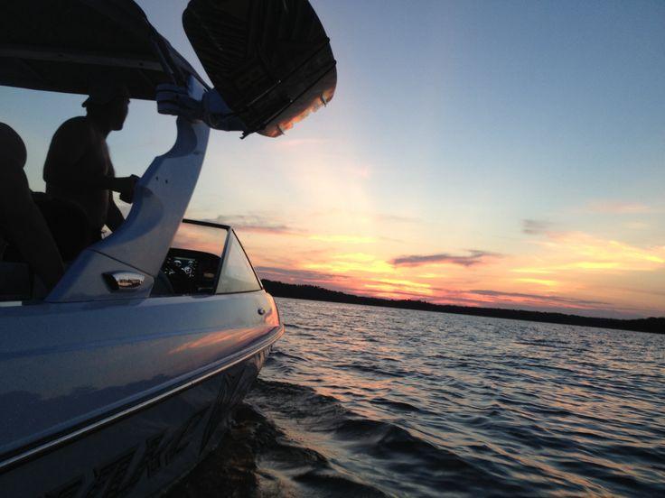 Malibu wake setter wake boarding sulphur Oklahoma Arbuckle lake