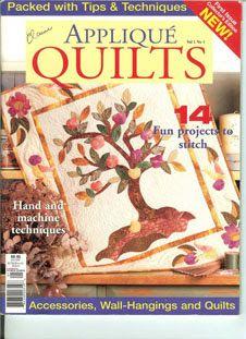 applique quilts - Ludmila2 Krivun - Álbuns da web do Picasa... Free book!