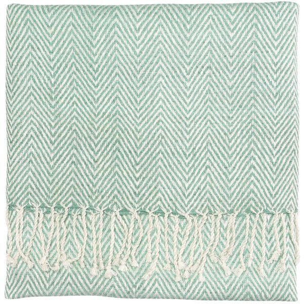Company C Staccato Lake Throw Blanket (210 CAD) ❤ liked on Polyvore featuring home, bed & bath, bedding, blankets, lakers blanket, blue herringbone throw, silk blanket, hypoallergenic bedding and lakers bedding