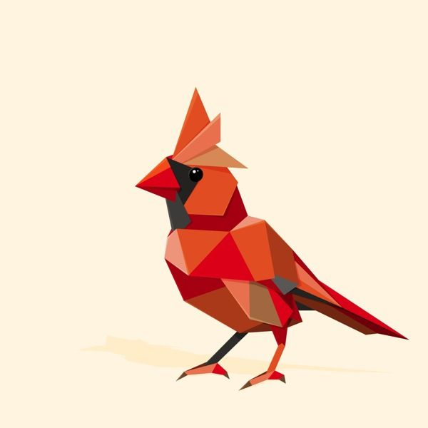 Triangles by Andrey Bzh, via Behance