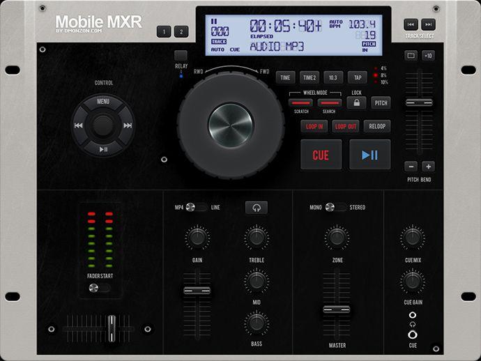 Tablet / Phone User Interface PROFESSIONAL SET V. 8.0 / MOBILE MXR