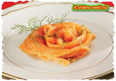 Ricette tipiche della cucina Italiana: Salmone marinato