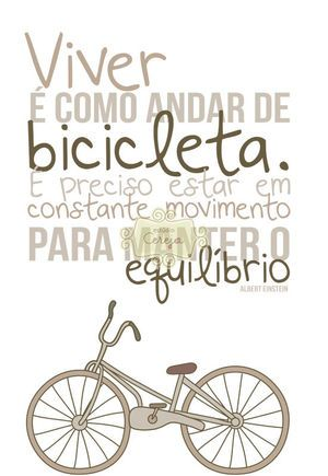 """""""I want to ride my bicycle... I want to ride my bike... I want to ride my bicycle... I want to ride it where I like"""" - Bycicle Race - Queen ;-D"""