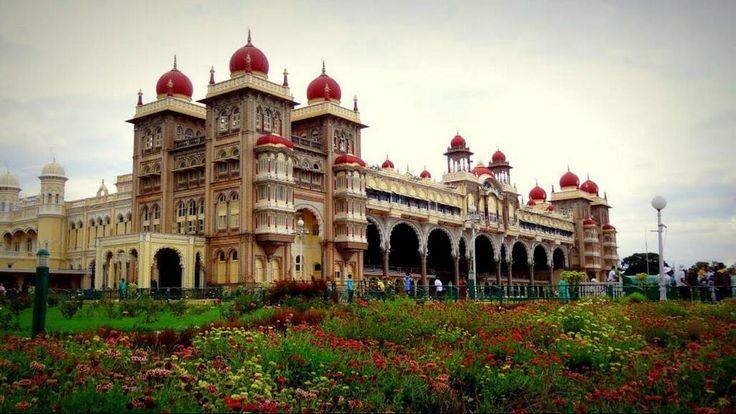 Palácio de Mysore, Chamrajpura, Karnataka, India