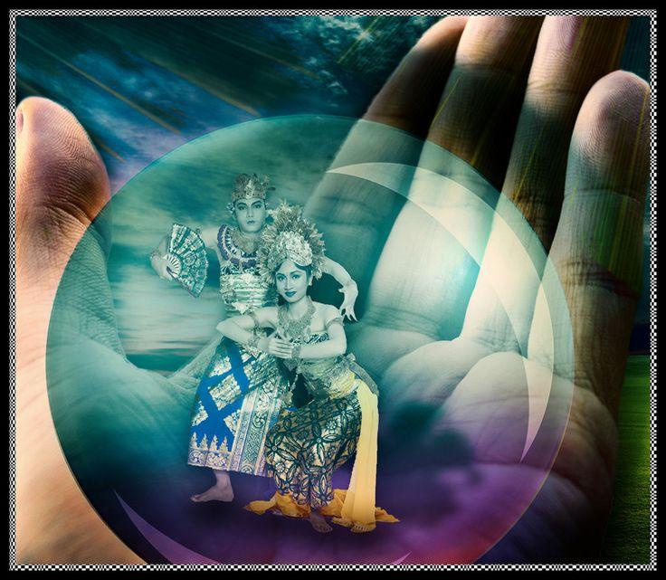 We love #Bali ~ Oleg Tamulilingan Dance by depalpiss ~ #Photoshop #Photomanipulation ~