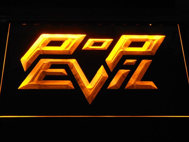 Pop Evil LED Neon Sign