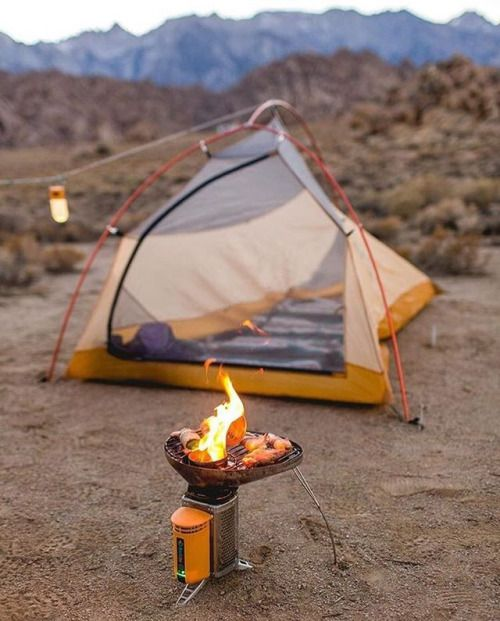 The best camp stove by @biolite  Photo by: @minaretphoto