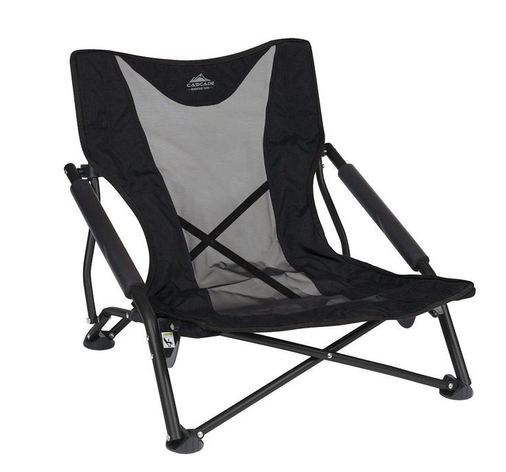 Lightweight Outdoor Folding Chair Camping Beach Sports Park Low Profile Compact | eBay