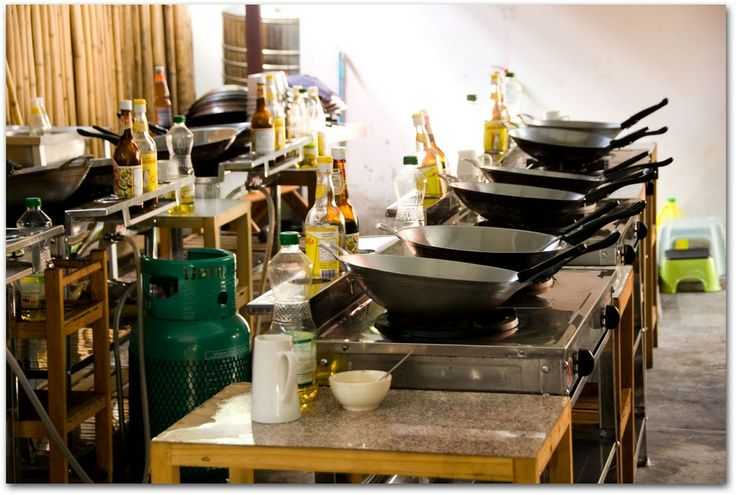 Asia Scenic Thai Cooking stations