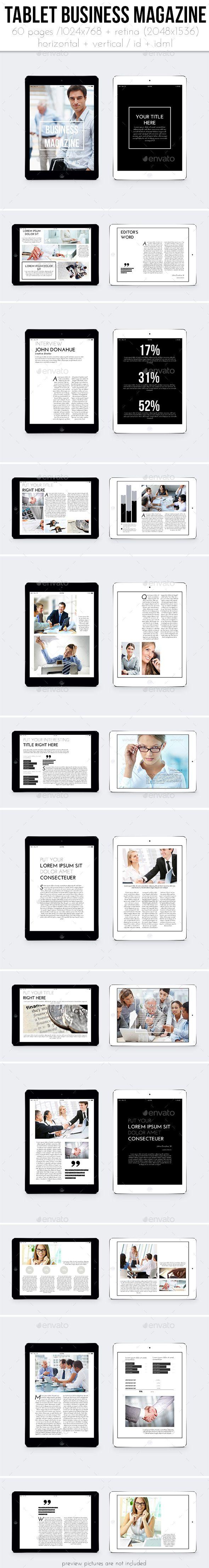 iPad &Tablet Business Magazine Tempalte #design Download: http://graphicriver.net/item/ipad-tablet-business-magazine/11774821?ref=ksioks