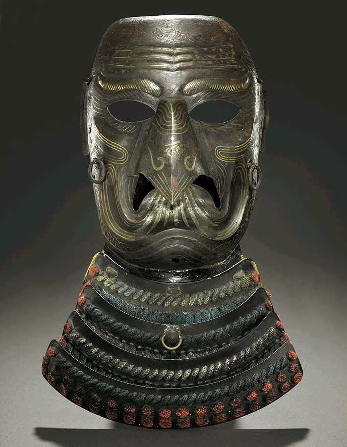 Karasu Tengu Somen (Full Face Mask). Meiji period (19th century) , Japan