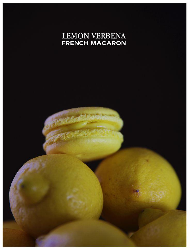 Chocolate Secrets Lemon Verbena French Macaron. #ChocolateSecrets # ...