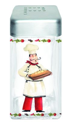 Pojemnik szklany z pokrywą na pieprz || Glass #container for #pepper || #spices #kitchenaccessories