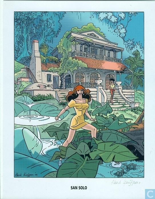 Franka - De vlucht van de Atlantis Serie d'Ami / collectors edition
