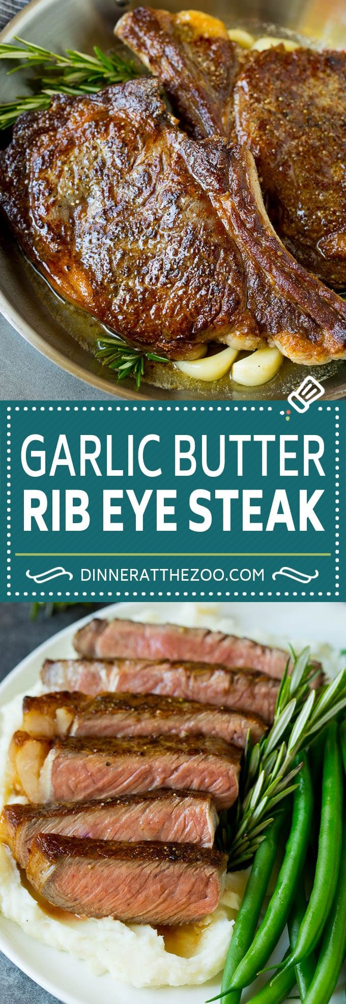 Rib Eye Steak in 2020 | Easy cooking recipes. Recipes. Beef dinner