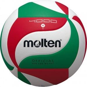 Piłka siatkowa Molten V5M4000 – Piłka siatkowa wykonana z miękkiej skóry kompozytowej, wytrzymała, świetnie sprawująca się w grze. $30