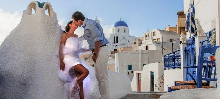 Now this is a kiss! Oia village, Santorini island, Greece. - www.oiamansion.com