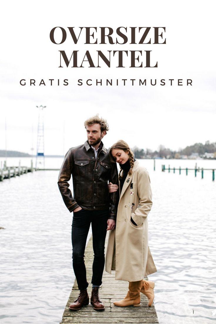 Kostenloses Schnittmuster für Übergroßen Mantel mit Stickereien ✂ mit Anleitung ✂ PDF zum Ausdrucken ✂ Für Fortgeschrittene ✂ Modell/Schnitt: @evin ✂ Foto: @oh_hedwig
