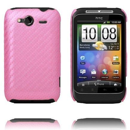 Carbonite (Ljusrosa) HTC Wildfire S-Skal