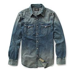Denim Western Shirt - RRL Shop All RRL - Ralph Lauren France
