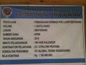 Proyek Pembangunan Dermaga di Desa Sungai Landak Sarat KKN, Lihat disini---> http://www.borbornews.com/2015/07/proyek-pembangunan-dermaga-di-desa.html