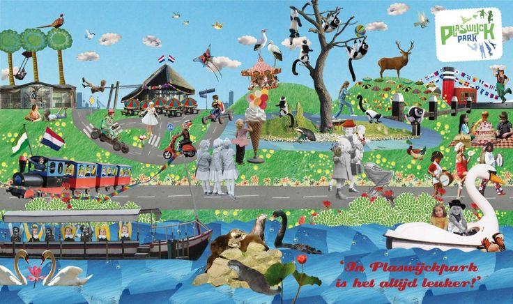 plaswijckpark illustraties - Google zoeken