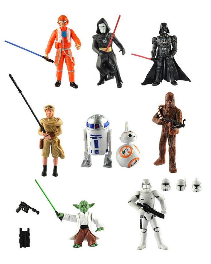 110.20$  Watch now - http://alixzm.shopchina.info/go.php?t=32572853858 - 10Sets Star Wars Action Figures Clone Trooper Storm Trooper Anime Movie Star Wars Darth Vader Action Figure 110.20$ #buychinaproducts