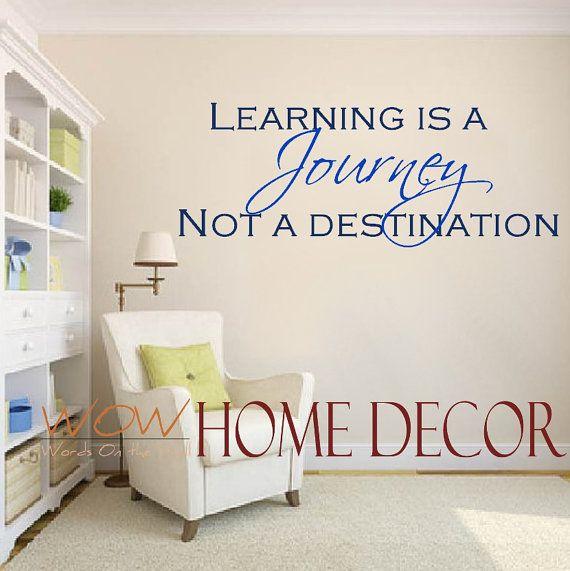 Classroom Decor Vinyl ~ Best classroom wall quotes on pinterest