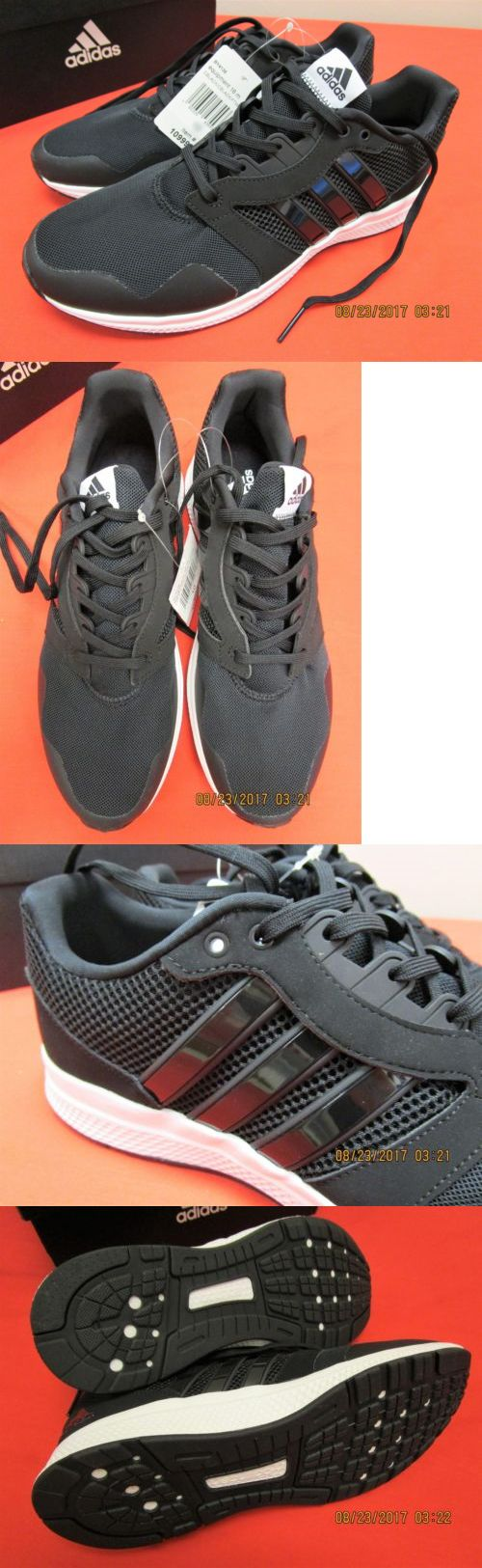 Men Shoes: Men S Adidas Equipment 16 M Black Running Shoes Size 8 -> BUY IT NOW ONLY: $32 on eBay!