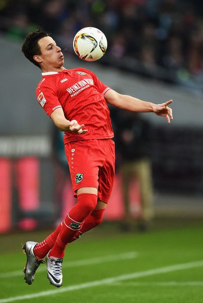 Edgar Prib Photos - Edgar Prib of Hannover in action during the Bundesliga match between Hannover 96 and FC Bayern Muenchen at HDI-Arena on December 19, 2015 in Hanover, Germany. - Hannover 96 v FC Bayern Muenchen - Bundesliga