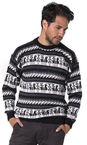 Great Sale Gamboa Tarjetero Alpaca Sweater Medium Gray Tones