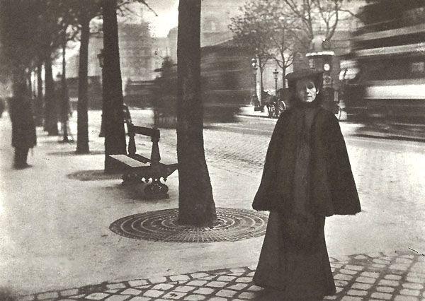 Olga Boznańska on Boulevard Montparnasse in Paris