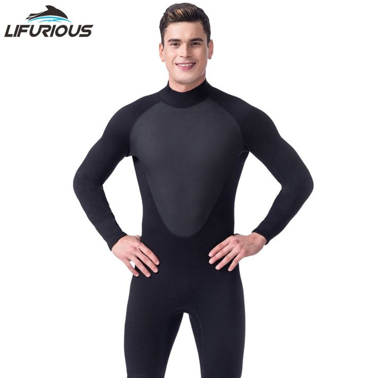 43$  Buy here - New LIFURIOUS Brand Black 3mm Full Body Neoprene Scuba Dive Wetsuit Men Diving Suit Spearfishing Surf Swim Equipment Swimwear   #magazineonlinebeautiful