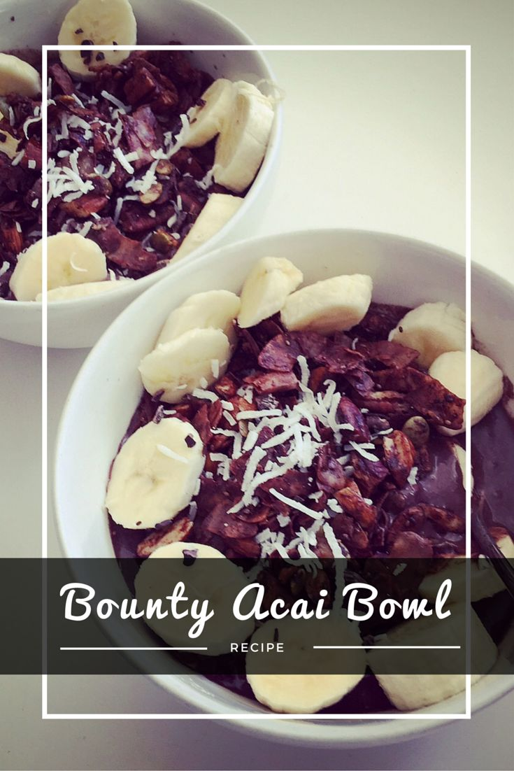 BOUNTY ACAI BOWL is good for boosting immunity, fight the aging process and hugely increases daily nutrient intake easily.