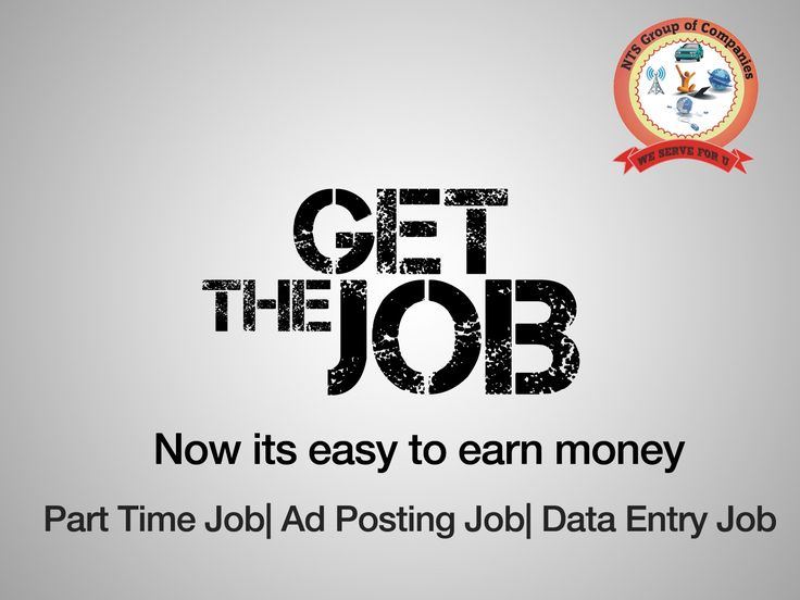 Now you can earn lots of money by doing part time jobs at NTS Infotech view more @ www.ntsinfotechindia.com
