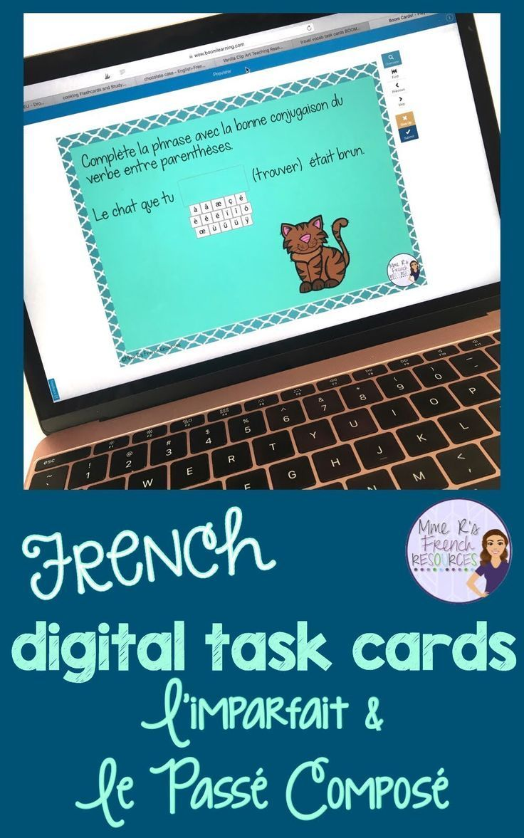 Passe Compose Imparfait Exercises Teaching French Core French High School Lesson Plans
