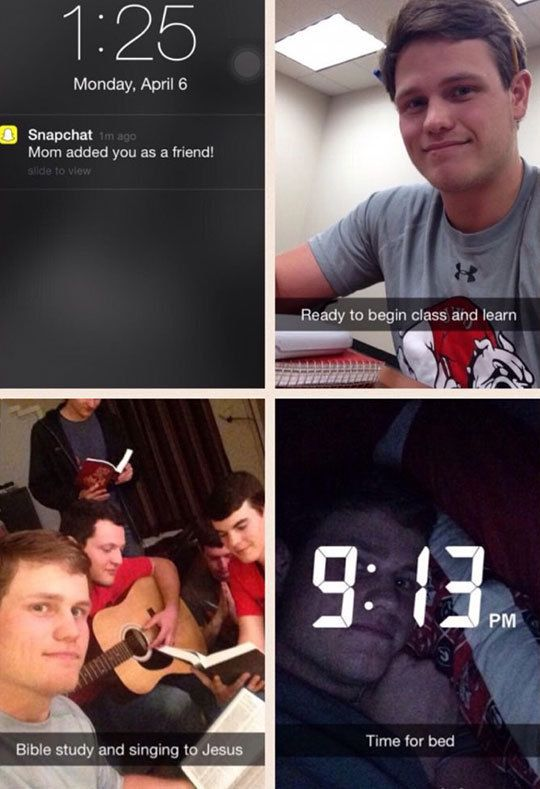 18 Snapchats That Hit Too Close To Home