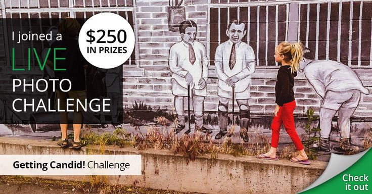 I joined The Getting Candid live photo challenge for my chance to win $250!