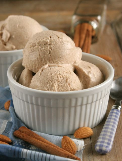 Snickerdoodle Ice Cream {Dairy-Free}