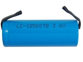 250 x 3.6 Volt 43 A 1400 mAh Li-Ion 18500 Batteries with Tabs Best energy Density by 250 x 3.6 Volt 4/3 A 1400 mAh Li-Ion 18500 Batteries with Tabs Best energy Density. $1487.50. Nominal Voltage 3.6V Size 18500 Cylindrical Capacity 1500 mAh Chemistry Lithium Ion Rechargeable Li-Ion Max Charging current 1.5A Max Discharging current 2.6A Spot Welded Tabs on Both Ends Included Qty 1 Dimensions Length 50.3 mm Diameter 18.3 mm Weight 34 g 1.2 Oz No memory effect Long storage li...