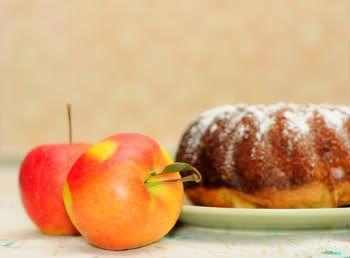 Receita de Bolo de Maçã Diet